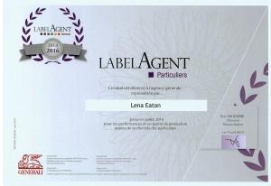 Label agent
