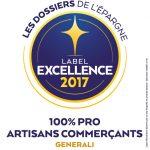 PROFIDEO_LABEL_GENERALI_100% PRO ARTISANS COMMERCANTS